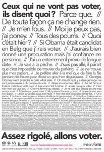 affiche campagne provote