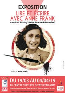 Lire et Ecrire avec Anne Frank - Exposition @ Centre culturel de Welkenraedt | Welkenraedt | Wallonie | Belgique