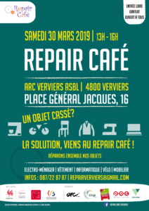 Repair Café @ ARC Verviers ASBL | Verviers | Wallonie | Belgique