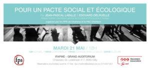 Pour un pacte social et écologique - Conférence @ IFAPME - Grand auditorium | Charleroi | Wallonie | Belgique