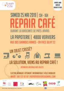 Repair Café @ La Papoterie | Verviers | Wallonie | Belgique